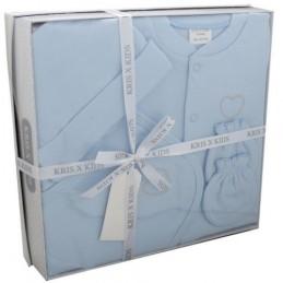 Heart four-piece gift set blue