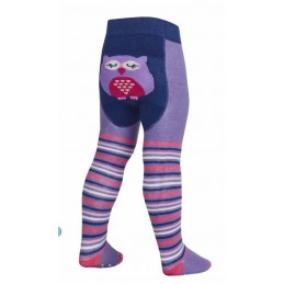 Tick Tock tights owl with...
