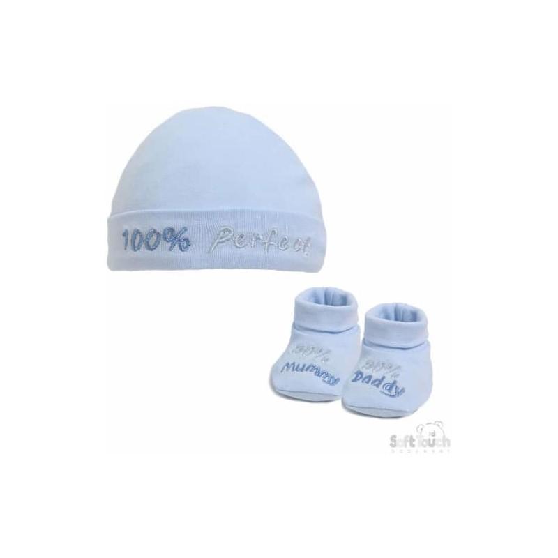 Kūdikiams kepurės ir tapukų rinkinukas