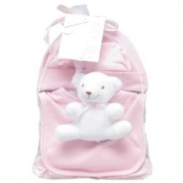 Pink five-piece, newborn dowry