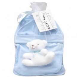 Bluish five-piece, newborn...
