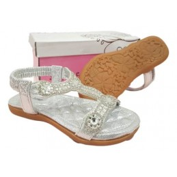 Silver sandals for girls...