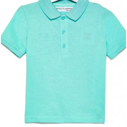 Polo shirt with short...