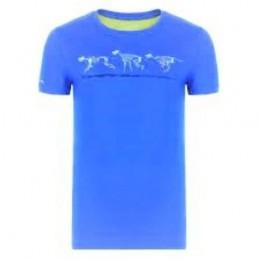 Blue T-shirt for boy 140cm