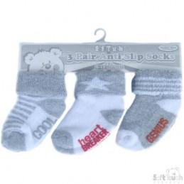 Kūdikio kojinės su gumuotu...
