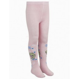 Frozen tights for girl pink