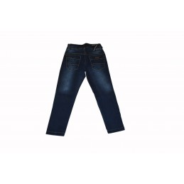 Dark blue classic jeans for...