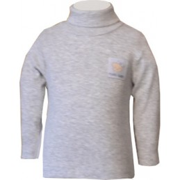 Gray kid's thin long sleeve...