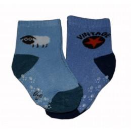 Blue boys' socks. Cosas
