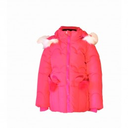 Red warm jacket 1 - 4 m.